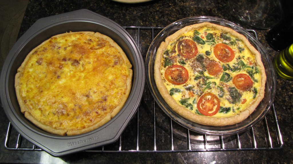 Breakfast of Champions: Quiche
