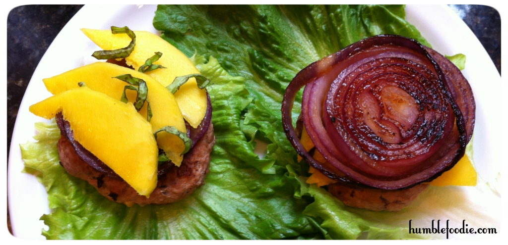 mango turkey burgers