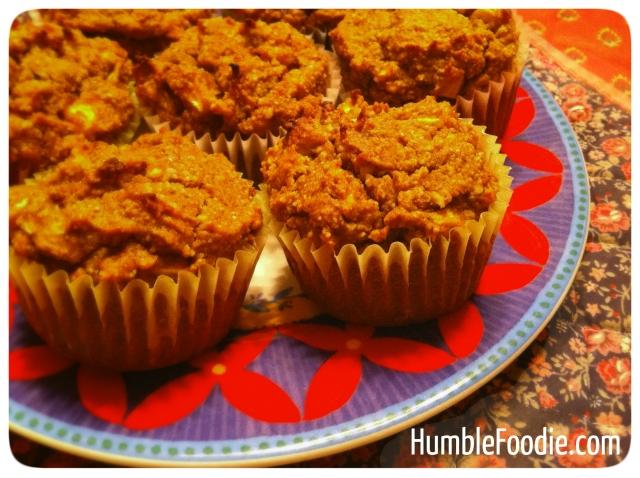 paleo apple-pumpkin muffins