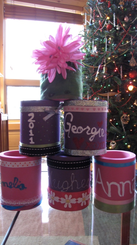 christmas new year's drink cozies