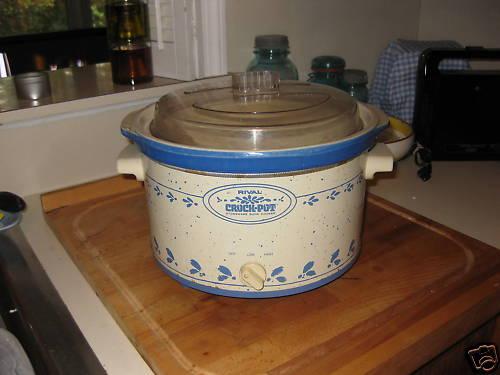 vintage crockpot slow cooker