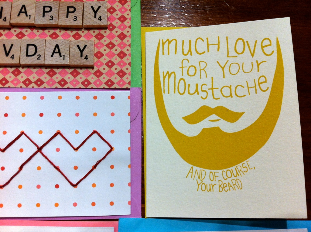 valentine much love for your moustache