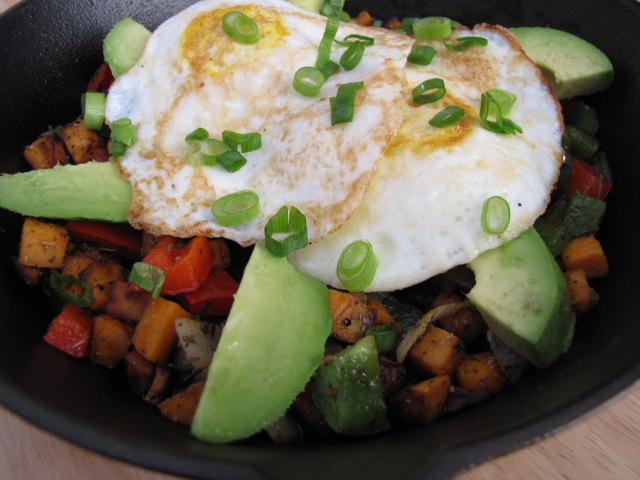 breakfast for dinner skillet