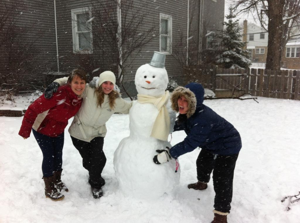 snowman roommates