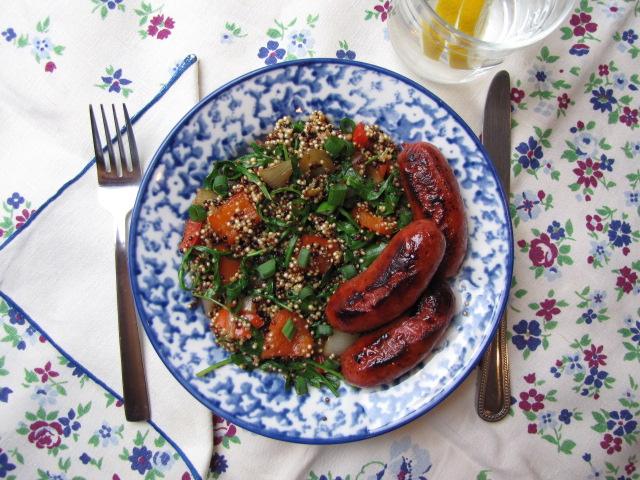 longganisa filipino sausages quinoa