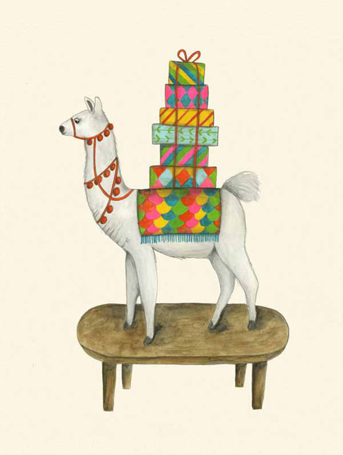 tender buttons llama presents lisa congdon