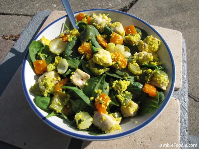 paleo chicken kebabs cauliflower couscous leftovers
