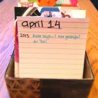 DIY Gratitude Calendar