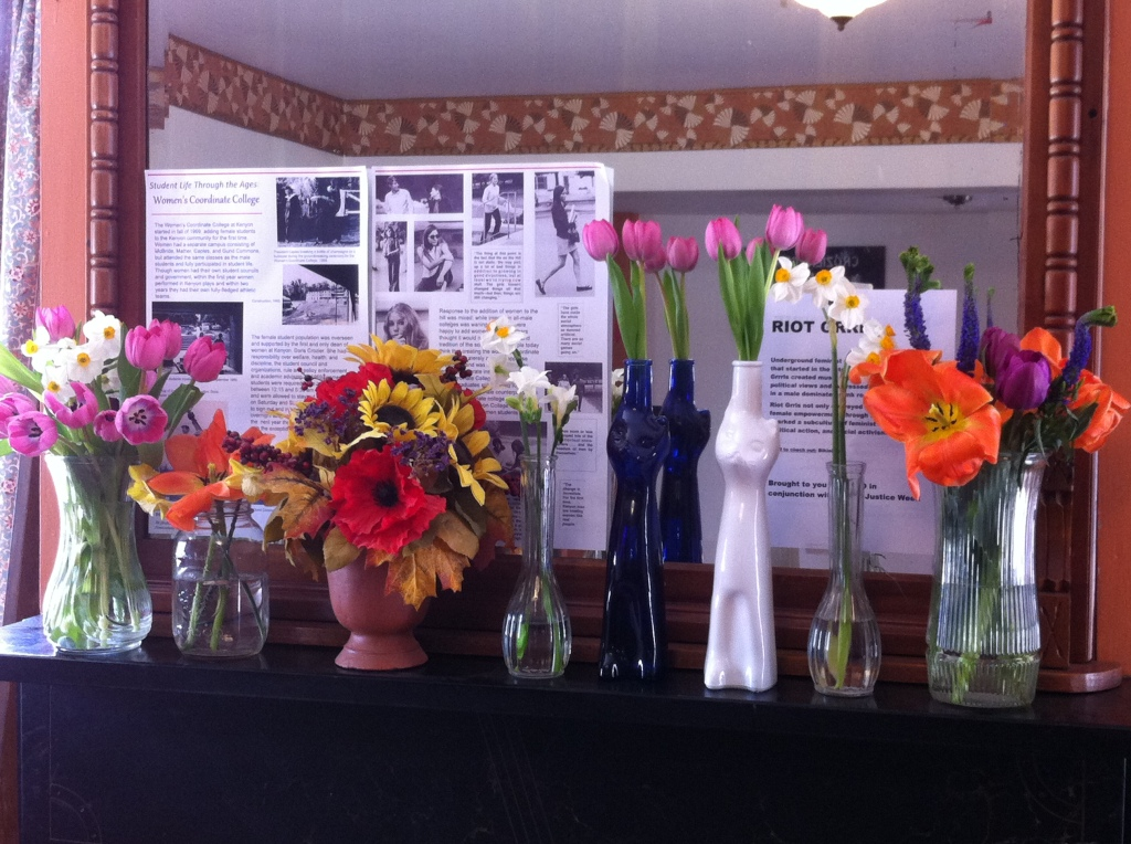 women of gambier brunch flowers