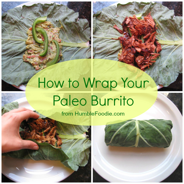 Paleo Burrito from Humble Foodie